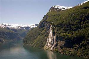Seven Sisters Waterfall, Norway svg #16, Download drawings
