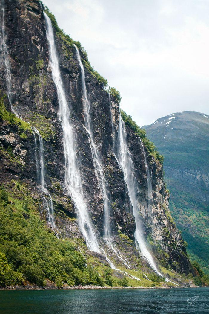 Seven Sisters Waterfall, Norway svg #13, Download drawings