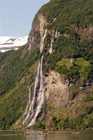 Seven Sisters Waterfall, Norway svg #14, Download drawings