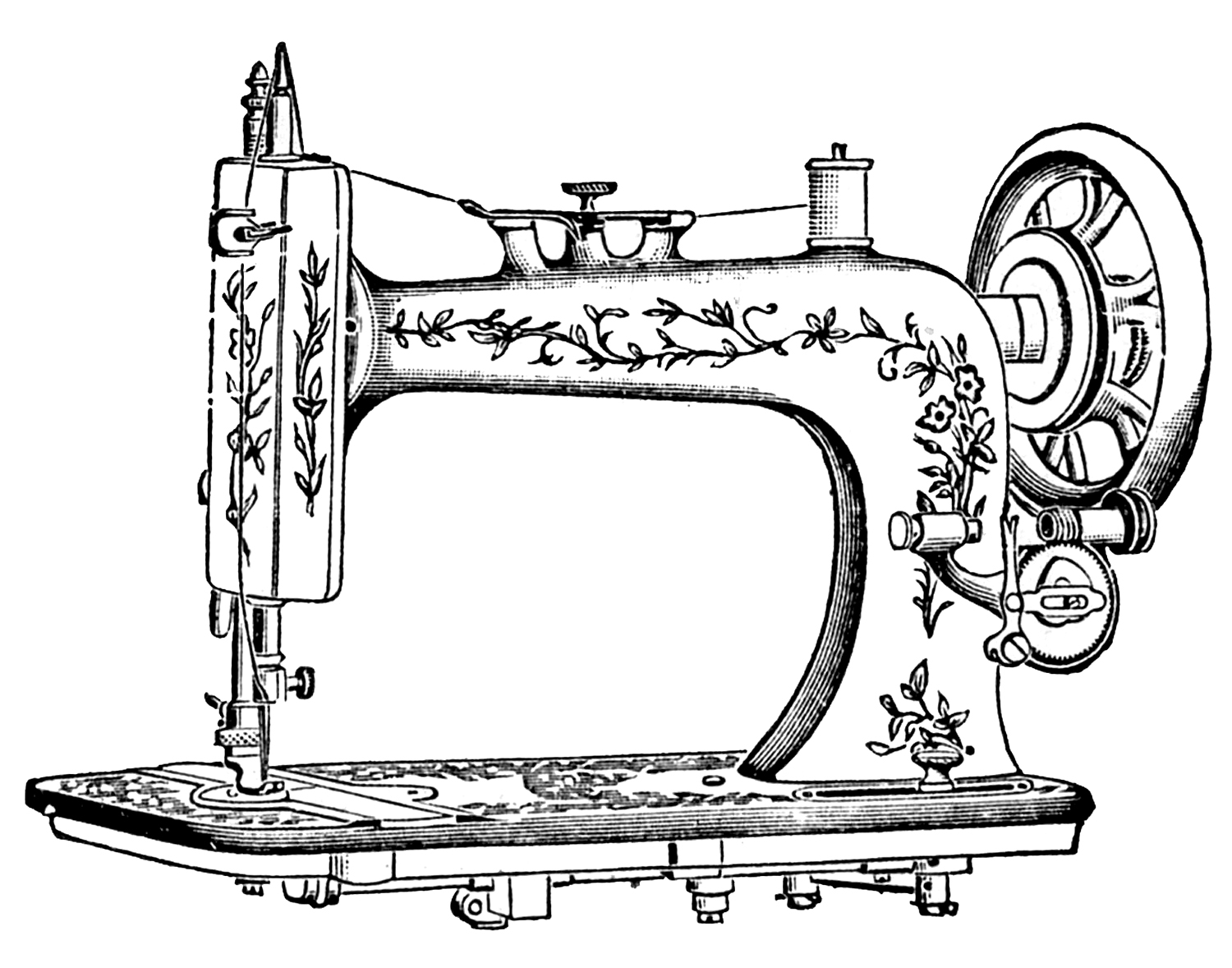 Sewing Machine clipart #3, Download drawings