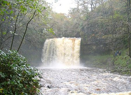 Sgwd Isaf Clun-gwyn Waterfall svg #1, Download drawings