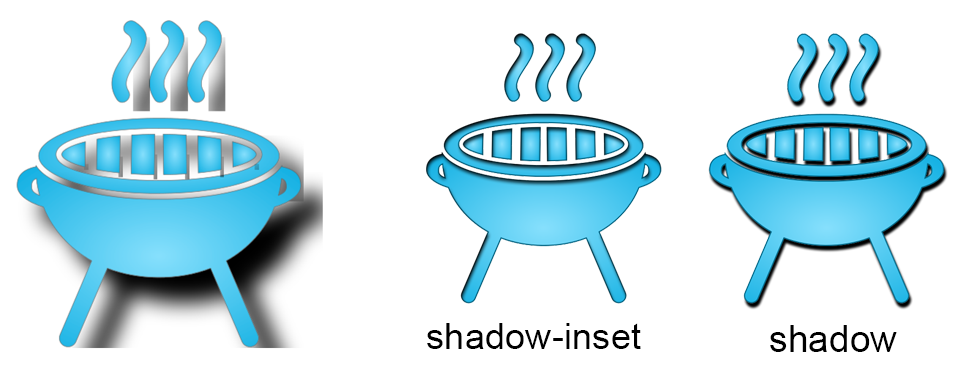 Shadow svg #2, Download drawings