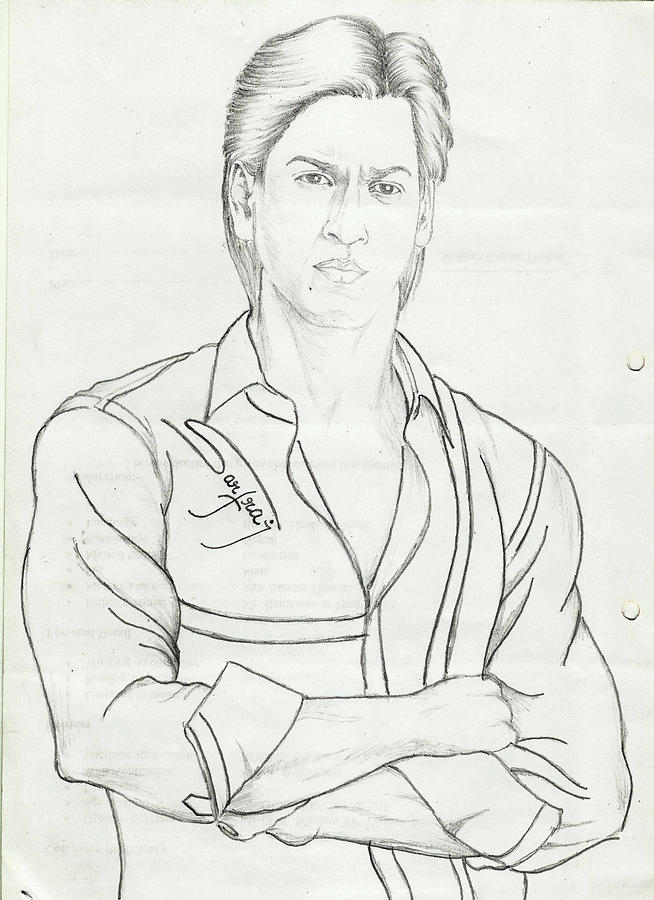 Shahrukh coloring #3, Download drawings