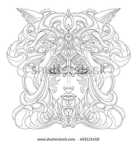 Shaman coloring #12, Download drawings