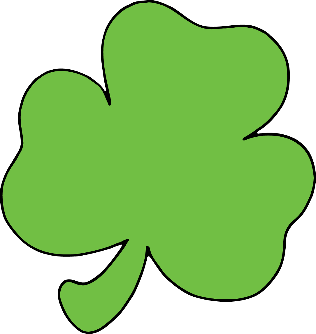 Shamrock clipart #3, Download drawings