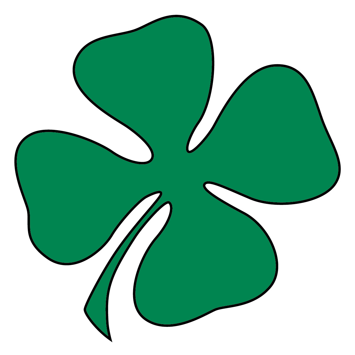 Shamrock clipart #4, Download drawings