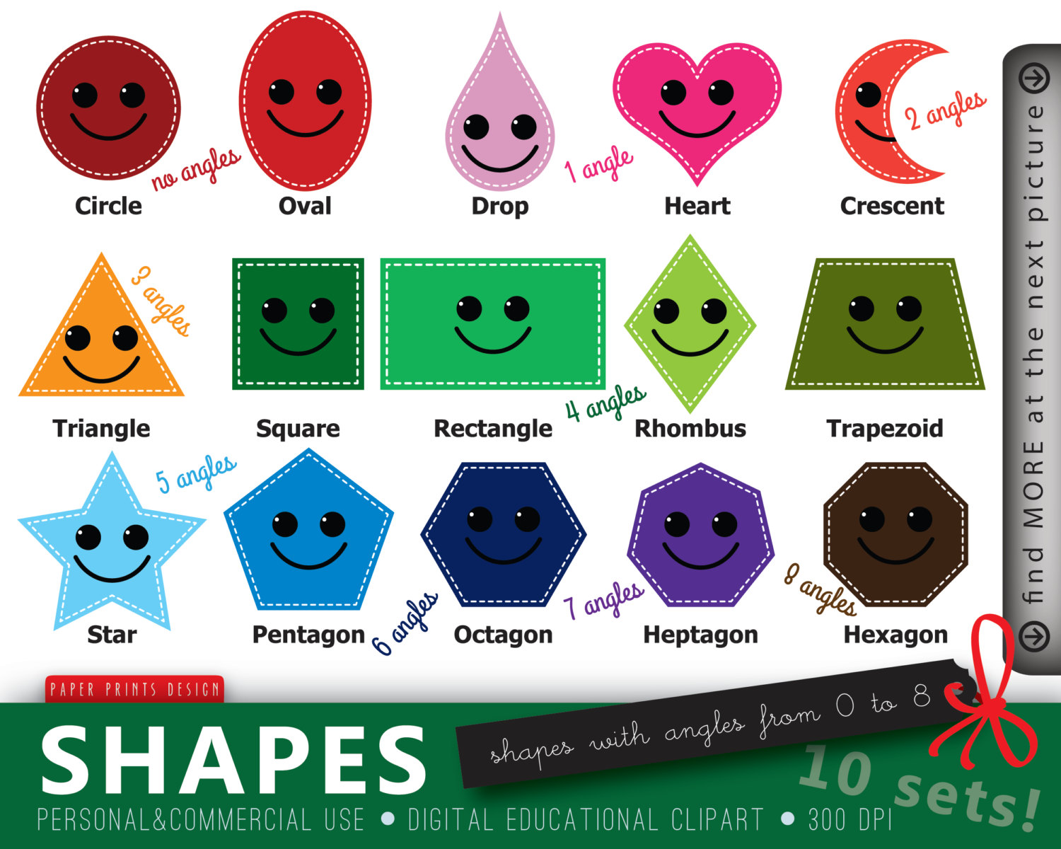 Shapes clipart #1, Download drawings