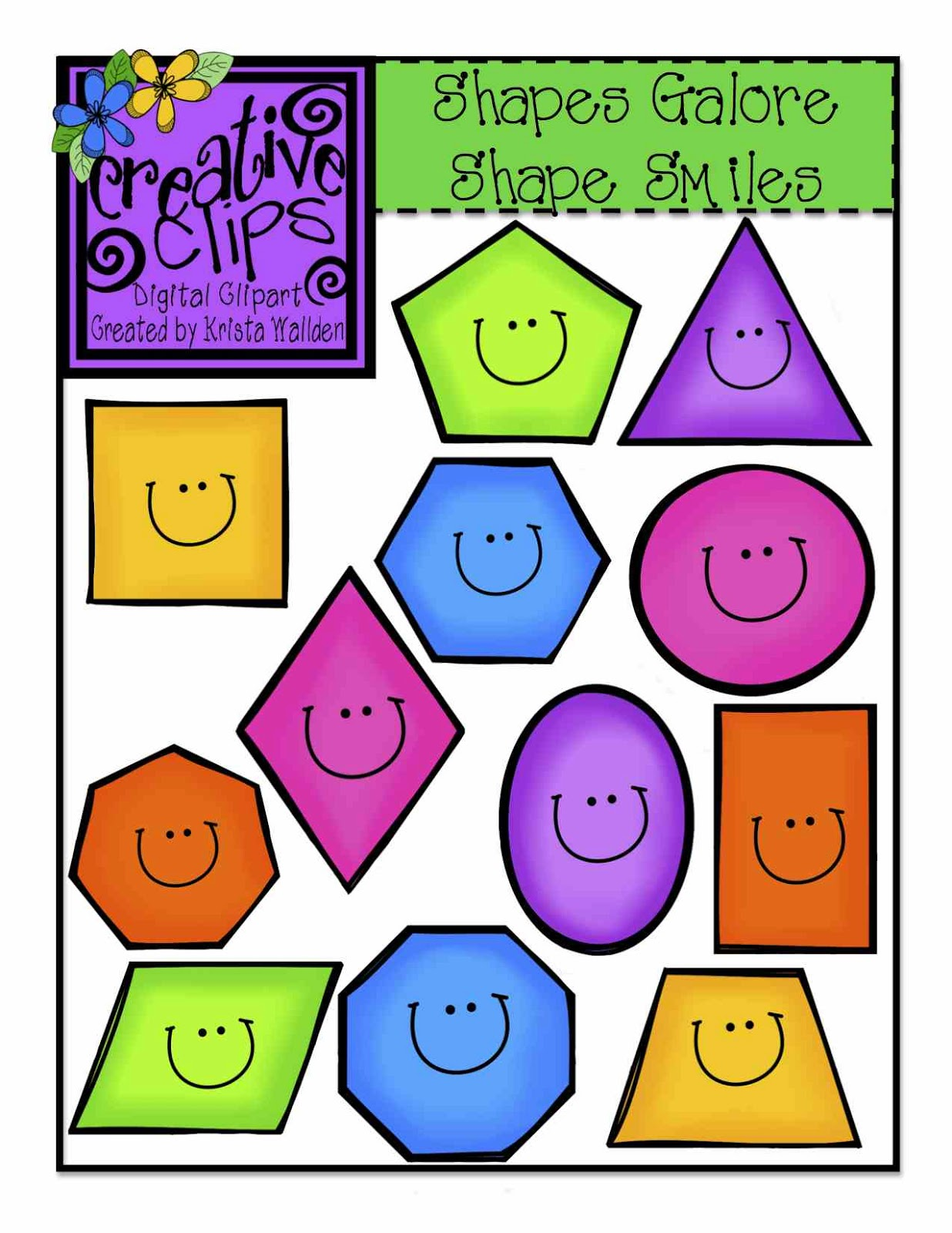Shapes clipart #2, Download drawings