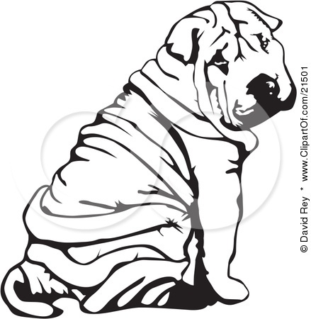 Shar Pei clipart #15, Download drawings