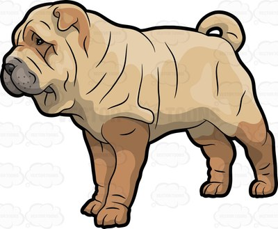 Shar Pei clipart #12, Download drawings