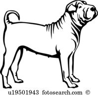 Shar Pei clipart #20, Download drawings