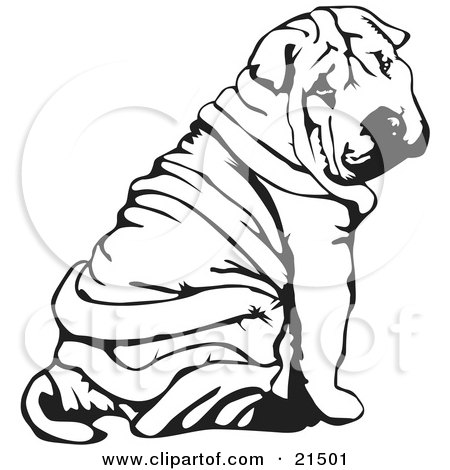 Shar Pei clipart #19, Download drawings