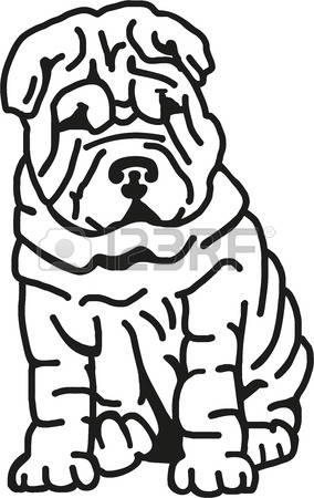 Shar Pei clipart #16, Download drawings