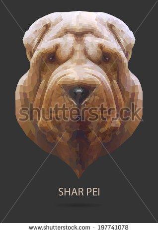 Shar Pei svg #5, Download drawings