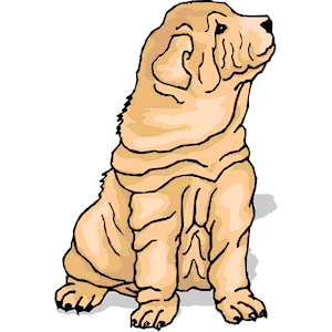 Shar Pei svg #1, Download drawings