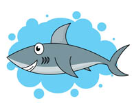 Shark clipart #7, Download drawings