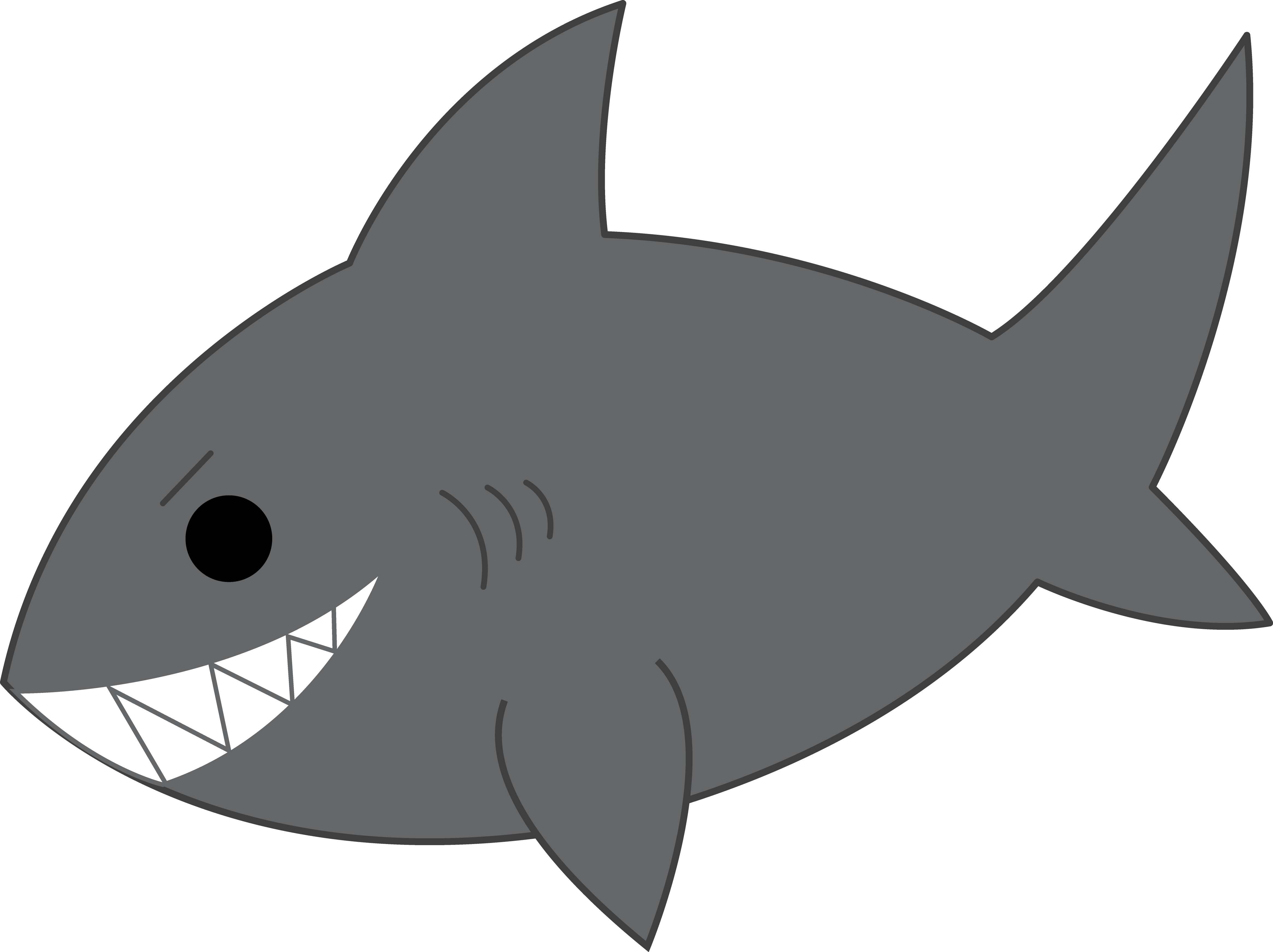 Shark clipart #2, Download drawings