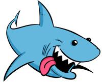 Shark clipart #1, Download drawings