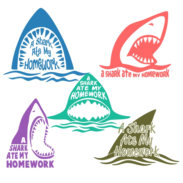 Shark svg #1, Download drawings