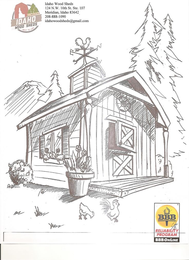 Shed Coloring Download Shed Coloring For Free 2019
