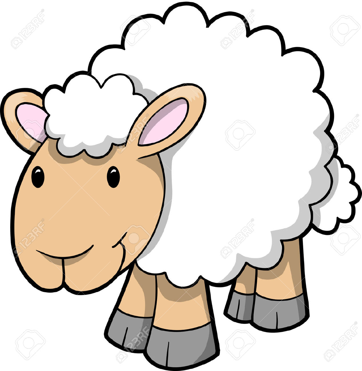 Sheep clipart #2, Download drawings
