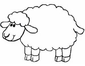 Sheep coloring #12, Download drawings
