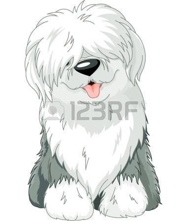 Sheepdog clipart #2, Download drawings