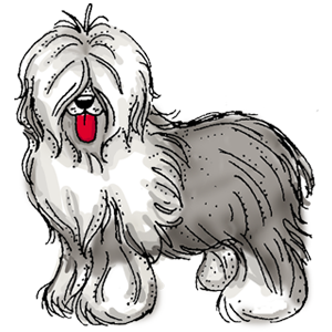 Sheepdog clipart #18, Download drawings