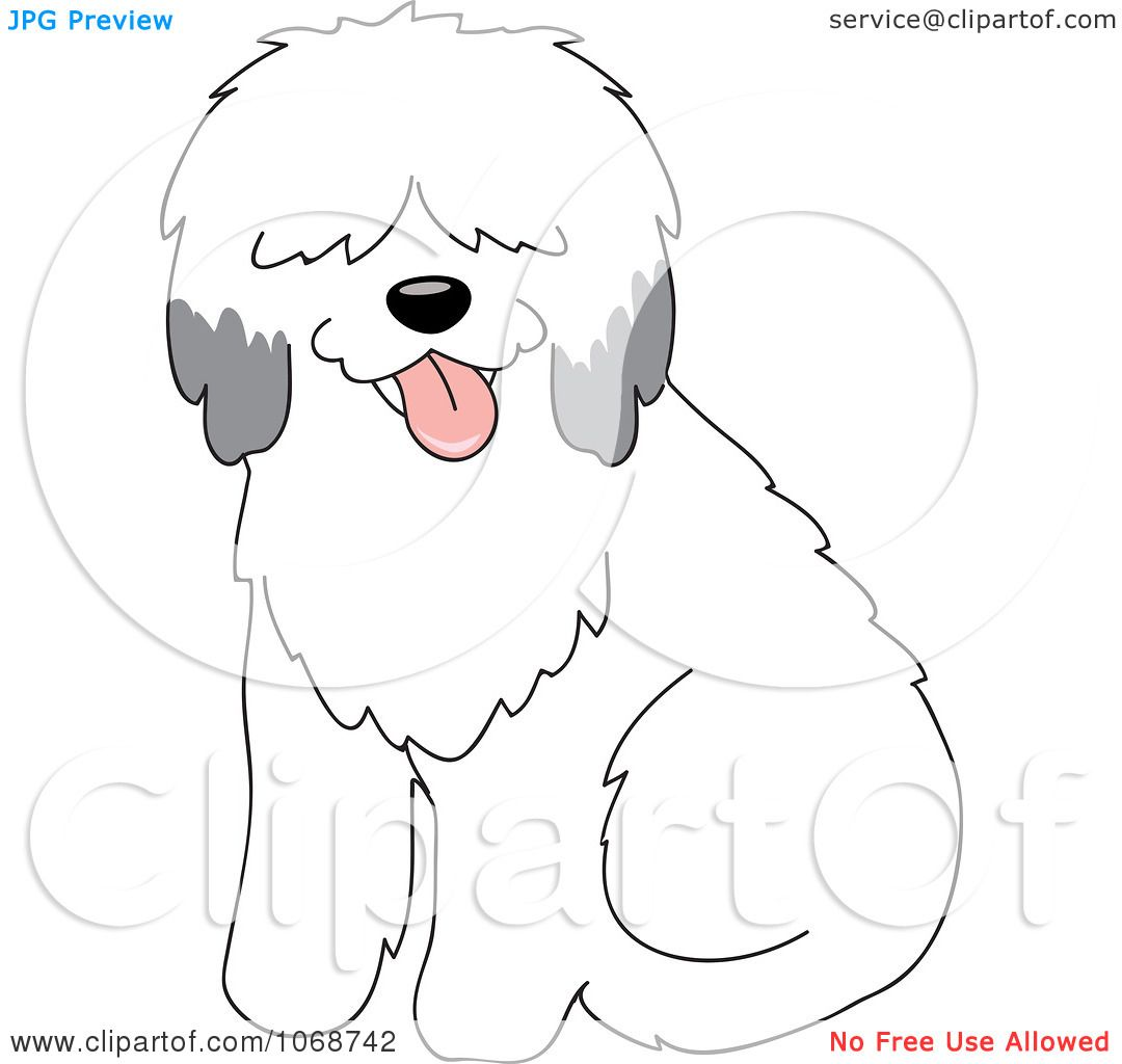 Sheepdog clipart #11, Download drawings