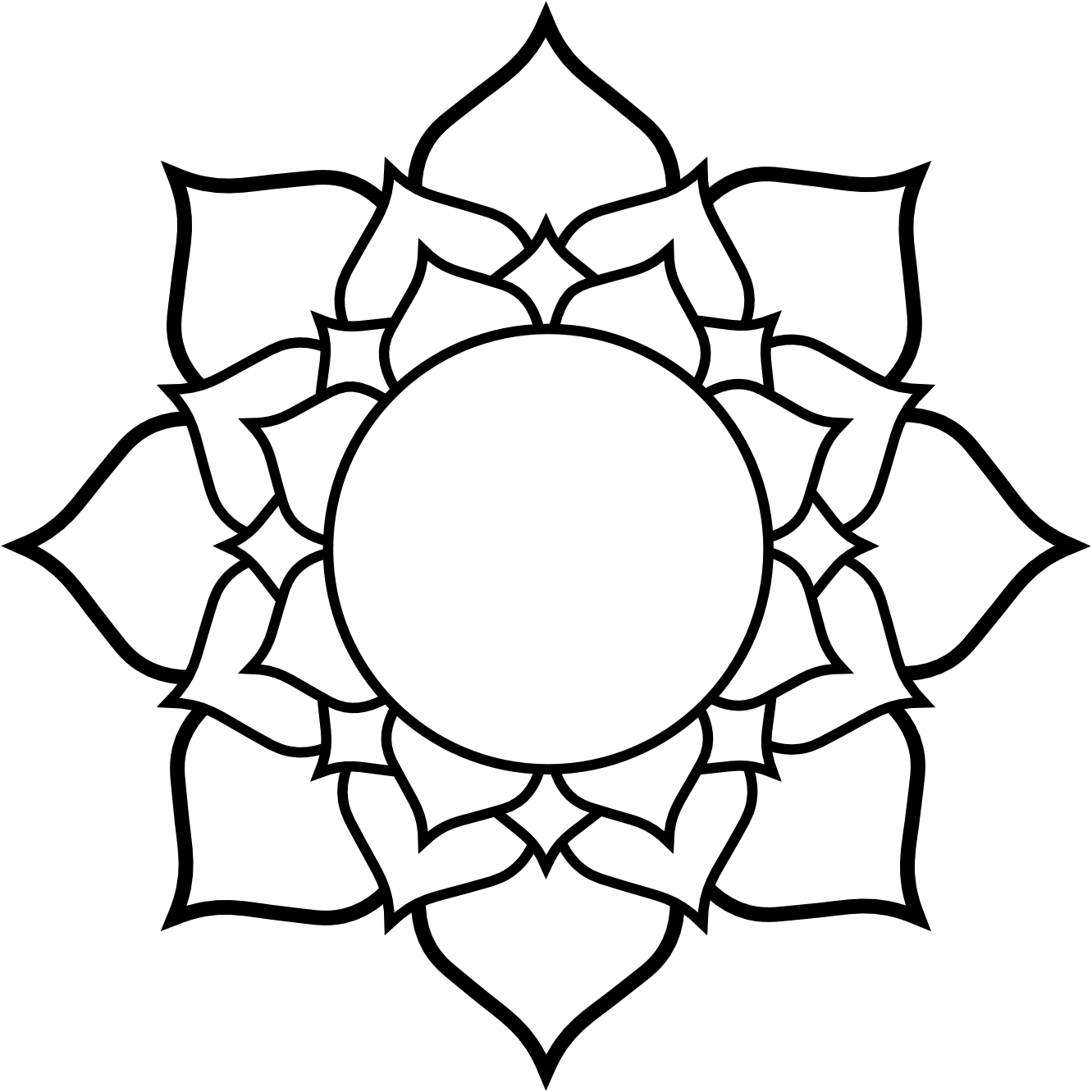 White Flower svg #8, Download drawings