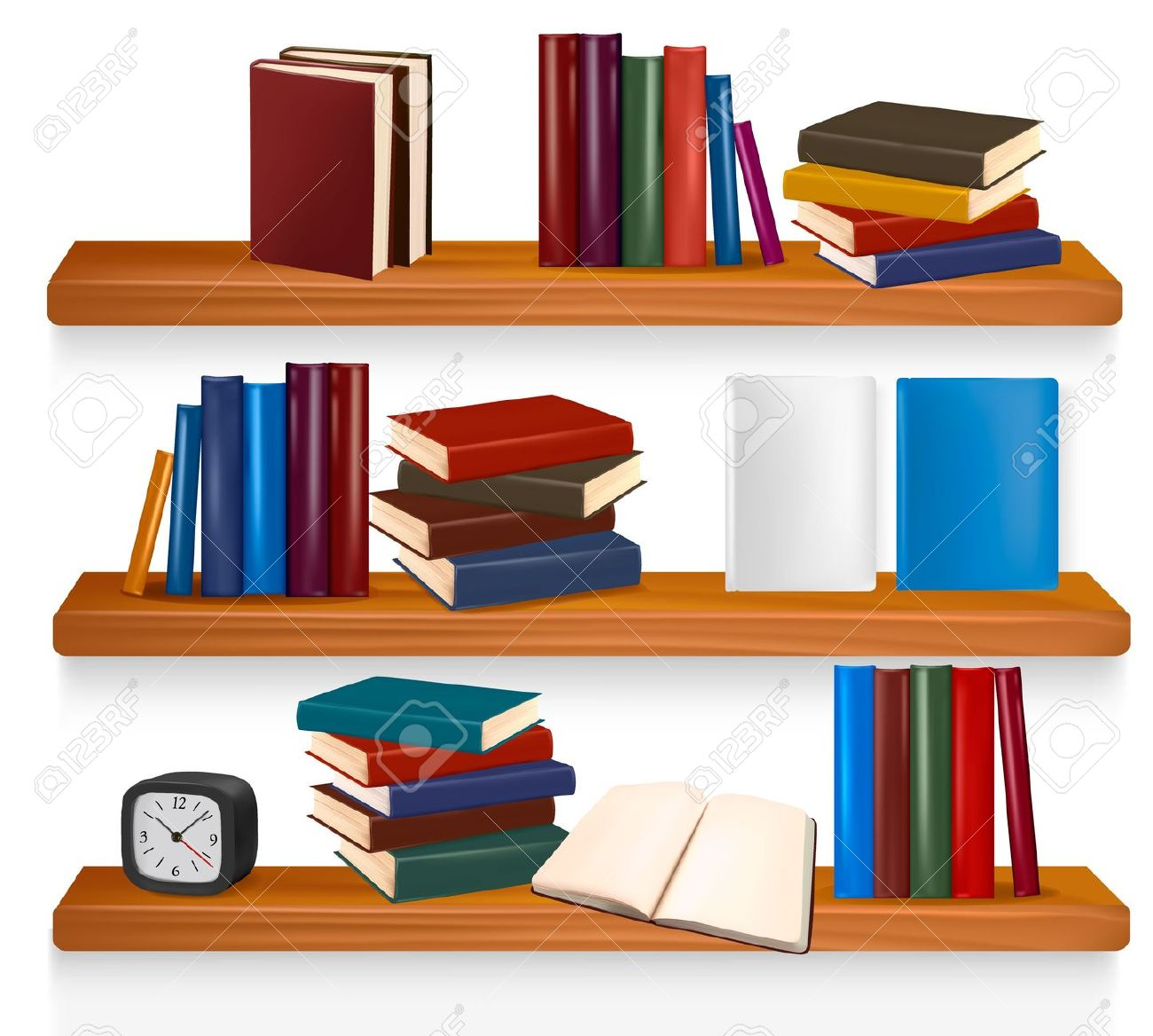 Shelf clipart #1, Download drawings