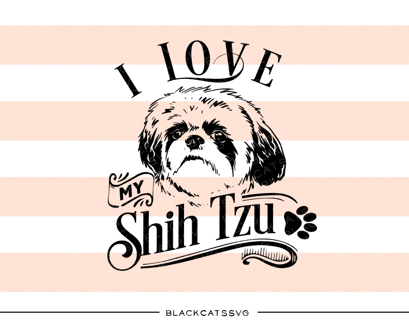 Shih Tzu svg #15, Download drawings