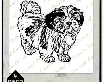 Shih Tzu svg #13, Download drawings