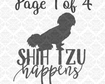 Shih Tzu svg #9, Download drawings