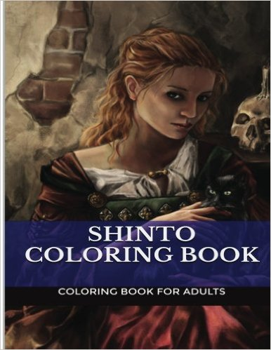 Shinto coloring #17, Download drawings