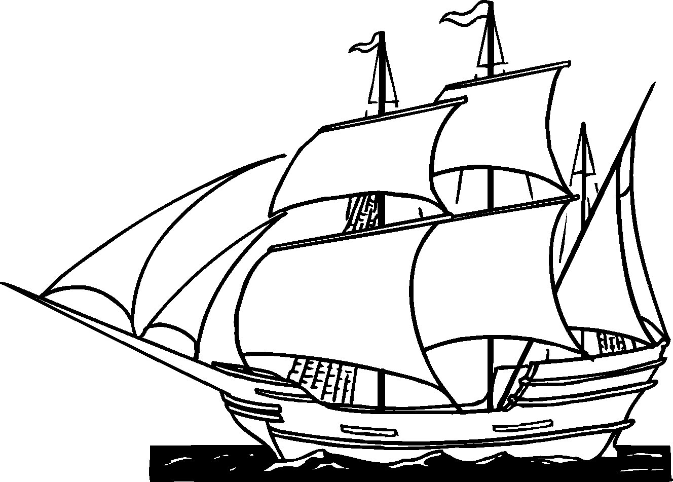 Sails coloring #3, Download drawings