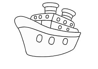 Ship coloring #13, Download drawings