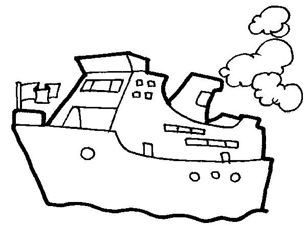 Ship coloring #2, Download drawings