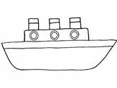 Ship coloring #4, Download drawings