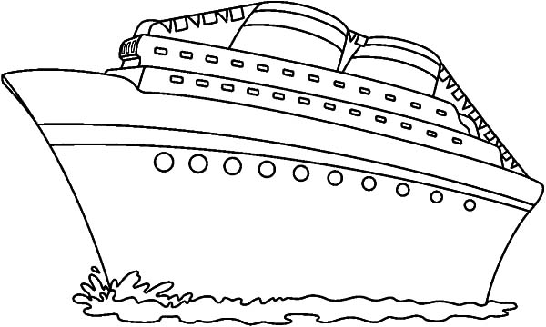 Cruise Ship coloring #19, Download drawings