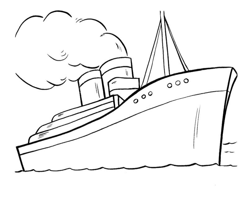 Ship coloring #8, Download drawings