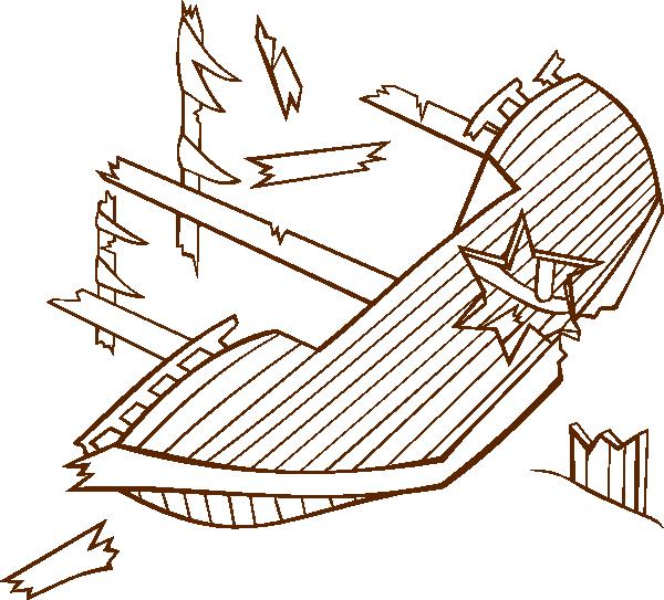 Shipwreck coloring #13, Download drawings