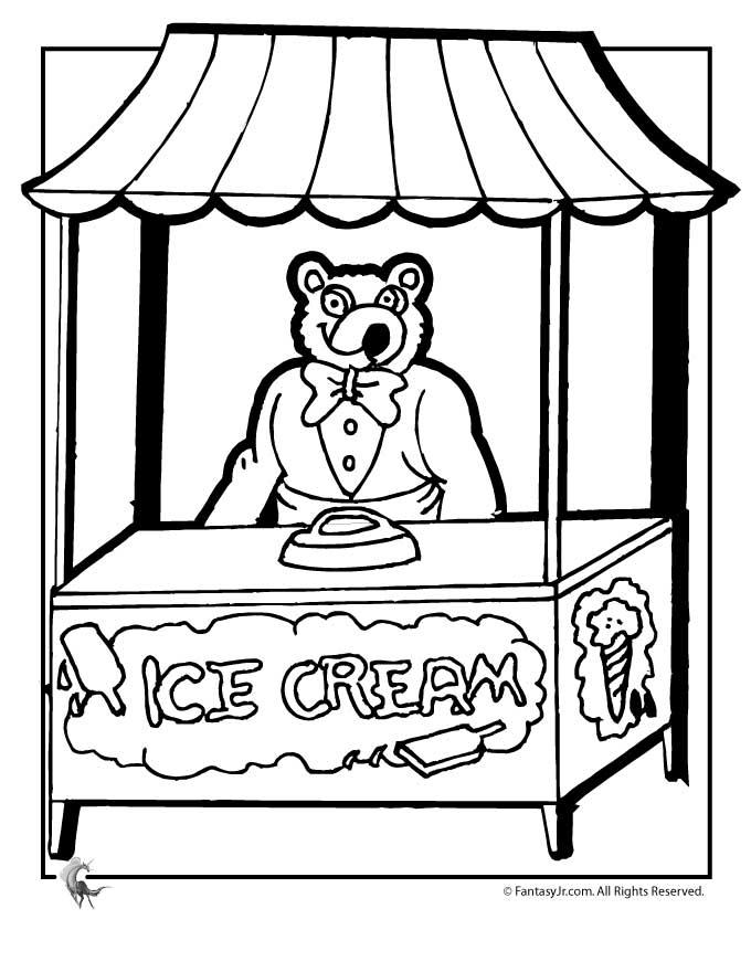Shop coloring #8, Download drawings