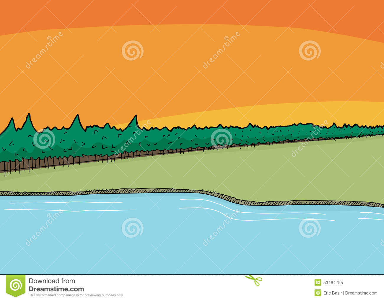 Shoreline clipart #13, Download drawings