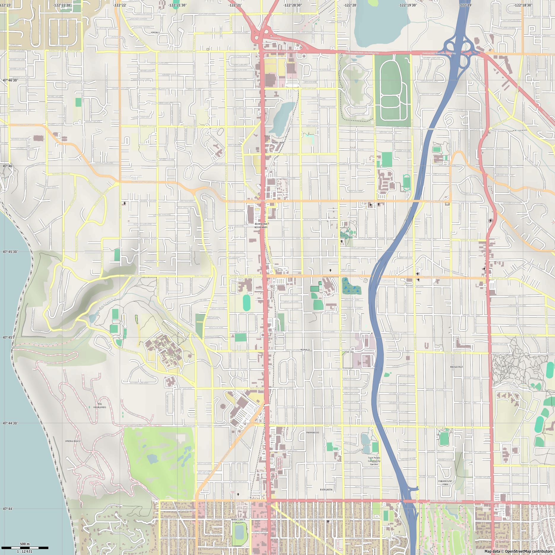 Shoreline Map 3d - 0425