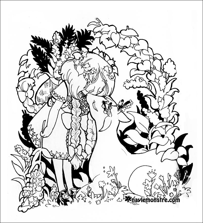 Shrine coloring #1, Download drawings