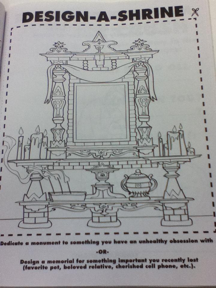 Shrine coloring #8, Download drawings