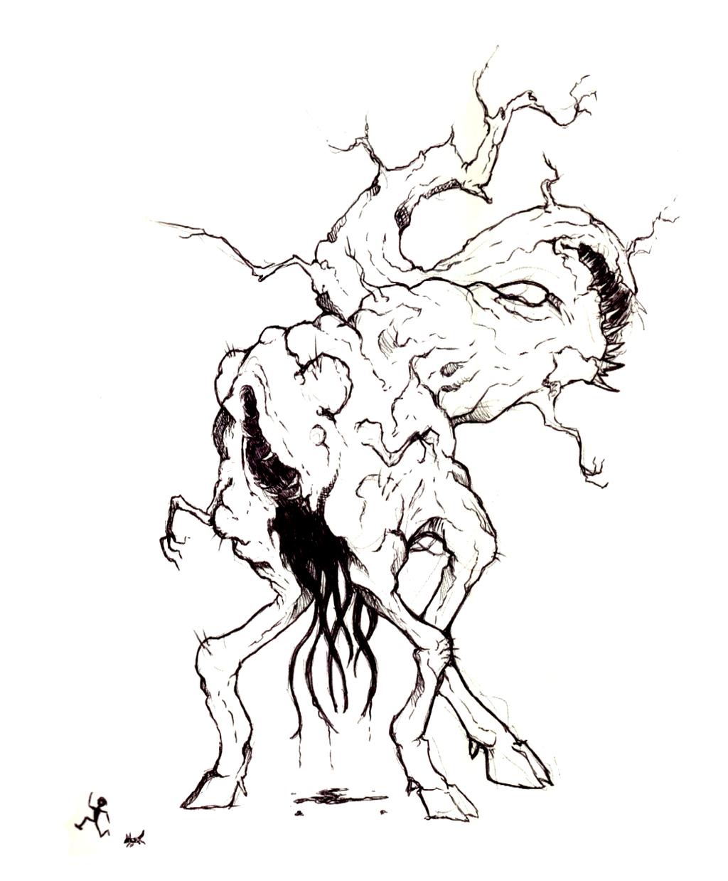 Shub-niggurath coloring #1, Download drawings