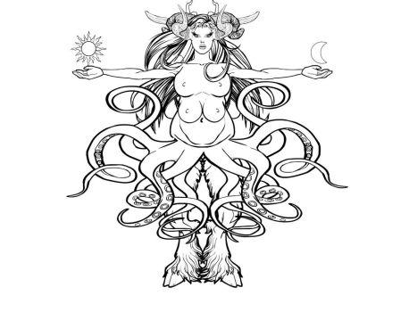 Shub-niggurath coloring #10, Download drawings