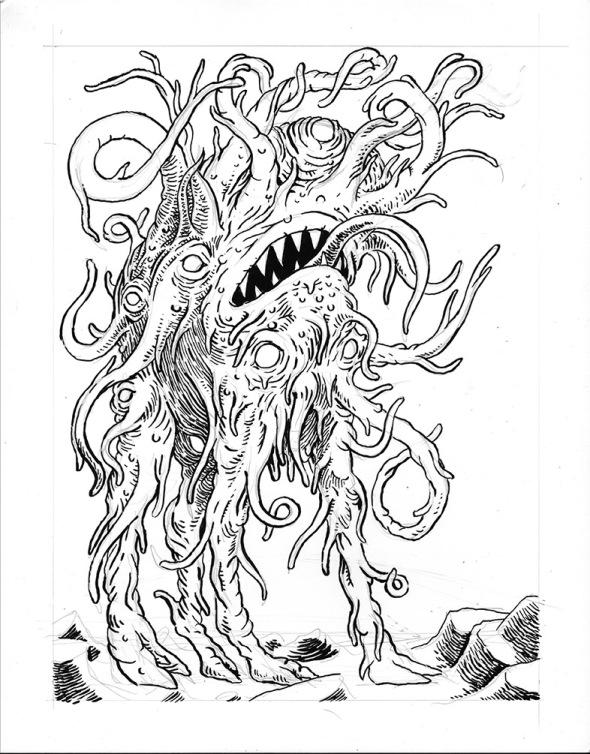 Shub-niggurath coloring #15, Download drawings